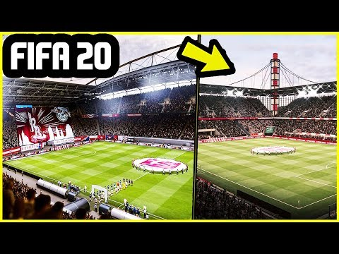 20 NEW STADIUMS ADDED TO FIFA 20