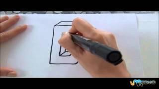 Como desenhar a letra D em 3D