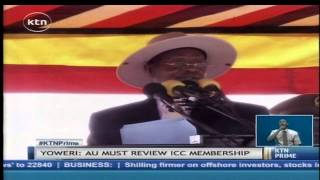 President Yoweri Museveni blasts ICC for issuing summons against sitting African presidents