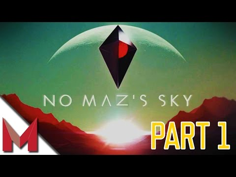 NO MAN'S SKY GAMEPLAY - CRAFTING AND REPAIRING THE SHIP - PART 1
