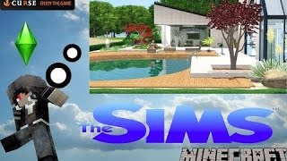 Minecraft Mod The Sims Part 1 ??? Minecraft ???????? The Sims ??? ????????