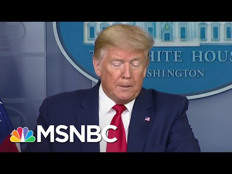 Trump Calls Himself A 'Wartime President' While Dodging Responsibility | The 11th Hour | MSNBC