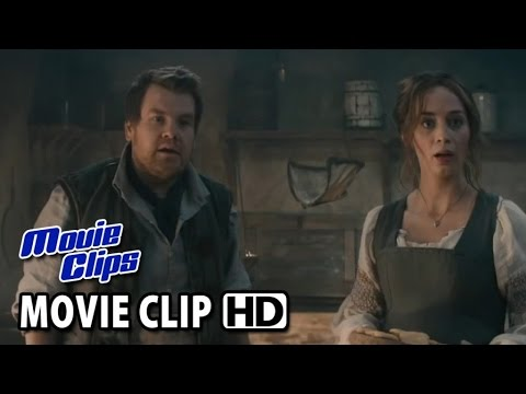 Into The Woods Movie CLIP 'To Grandmother's House' (2014) - Johnny Depp Movie HD