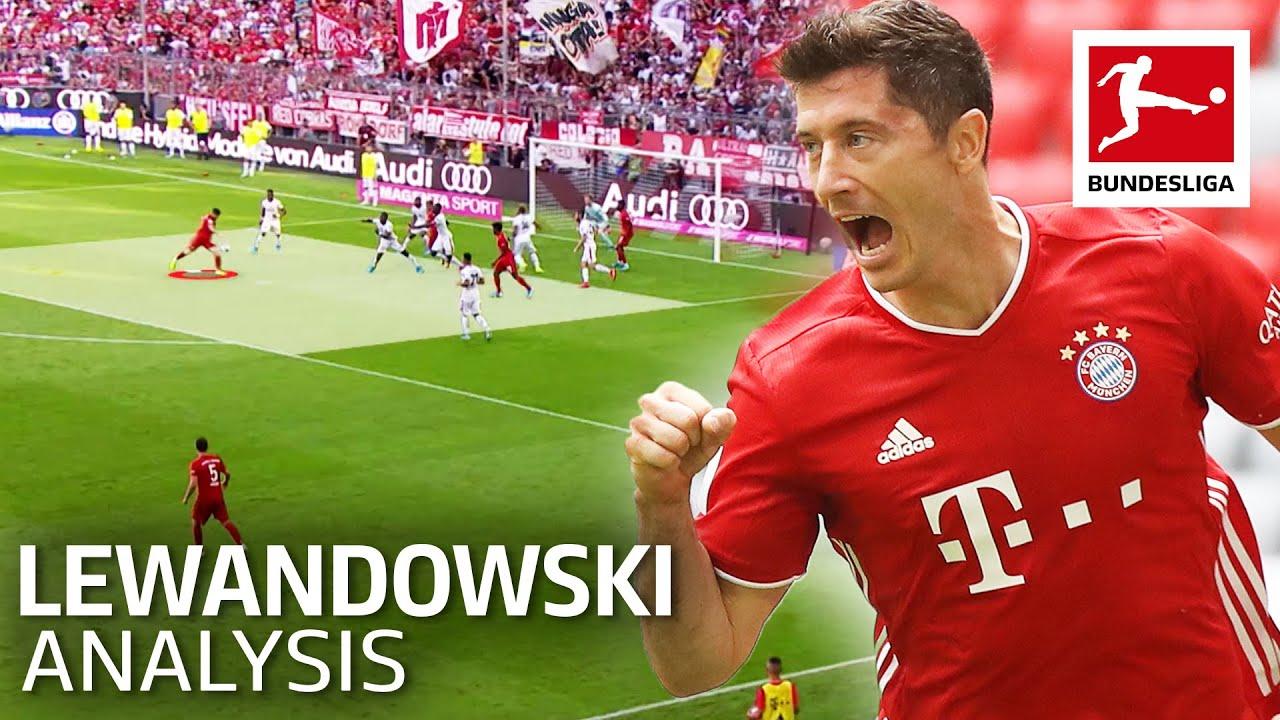 How Robert Lewandowski Scores His Goals • Tactical Analysis