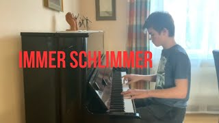 Immer schlimmer – Mike Singer, Piano Cover | Cover2Go