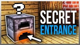 ✔️ 3 MORE Secret Entrances You NEED To Build! (Tutorials Included)
