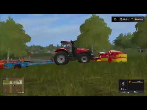 fs 17 Westbridge hills timelapse #4 silage bales & new equipment
