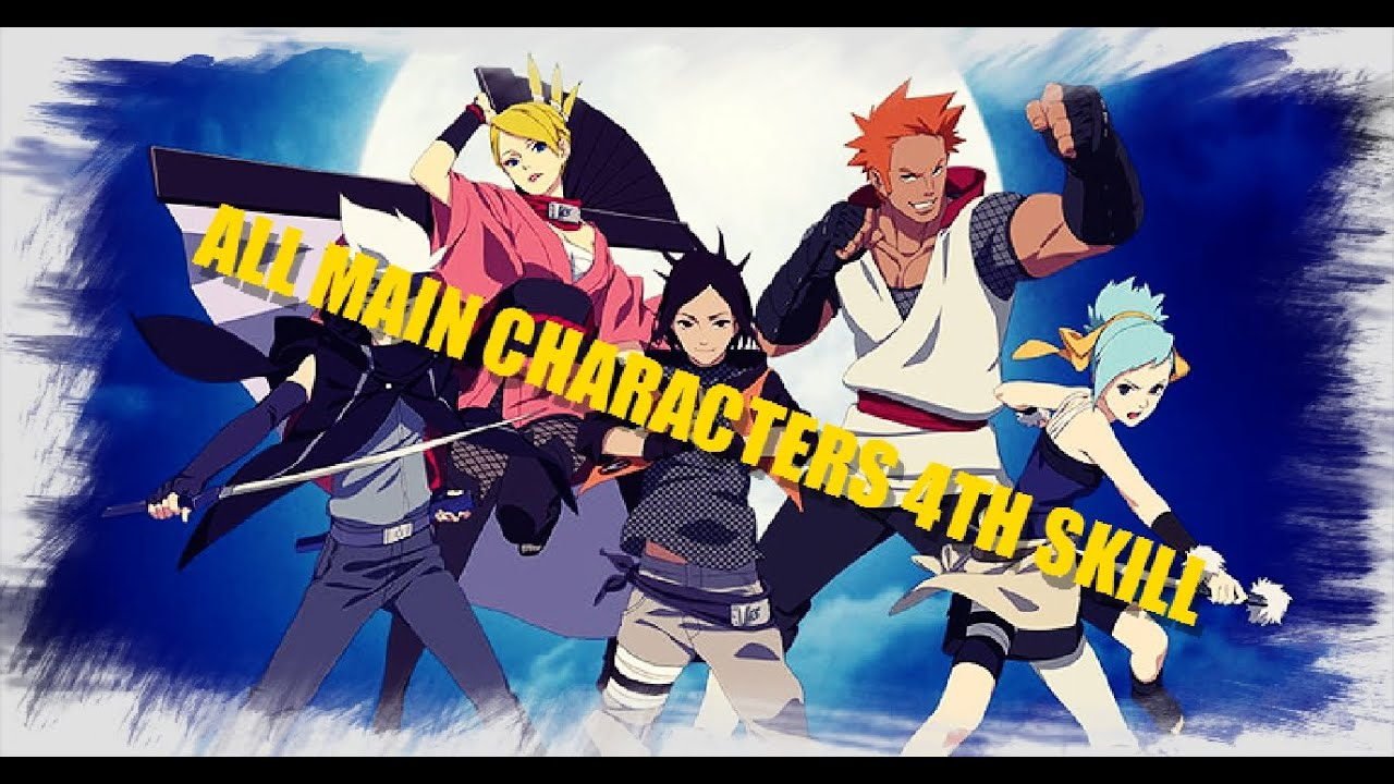 naruto online got gakido pain final skills for main character