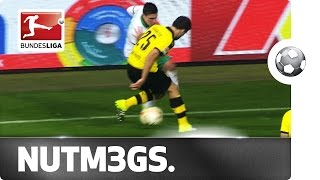 Triple Nutmeg in 7 Seconds - Sokratis Megged by Junuzovic