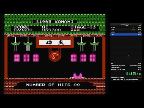 SPEEDRUN - Yie Ar Kung Fu - 1 loop - 1:54.780 - WORLD RECORD