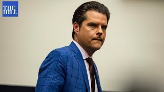 #BREAKING: Matt Gaetz aide who resigned speaks to the press