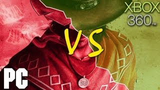 Call of Juarez: Gunslinger PC vs XBOX 360 Comparison (HD)