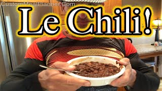 Le chili es Ready! budget crock-pot meal