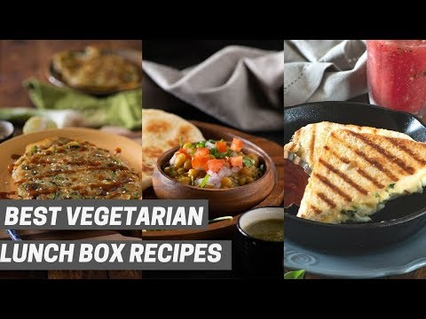 Monday To Friday Vegetarian Breakfast Recipes Without Eggs - Vegetarian Lunch Box Ideas