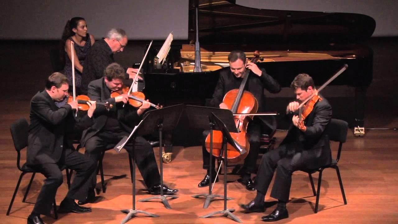 Brahms Quintet Op 34 with the Jerusalem Quartet and Ilan Rechtman