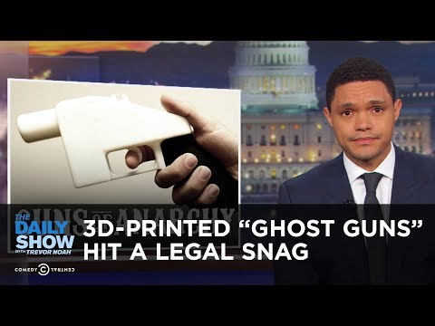 "3D-Printed ""Ghost Guns"" Hit a Legal Snag 