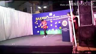 Freestyle lyrical on Dil Diyan Gallan. Guest performance at rajoria institute indore.