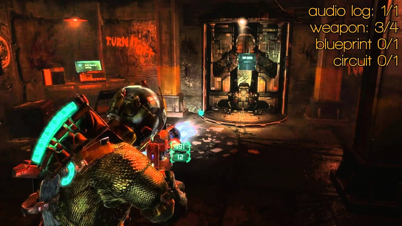 Dead space 3 chapter 16 audio log weapon parts a blueprint a dead space 3 chapter 16 audio log weapon parts a blueprint a circuit all collectibles malvernweather Image collections