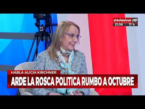 Alicia Kirchner en Hay otra Historia: 'En Santa Cruz no hubo despidos'