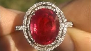Collectors Item - $6,478 - Pigeon Blood Ruby Being Auctioned on eBay SEE VIDEO