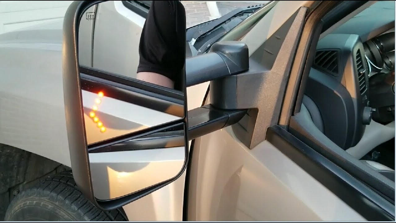 how to install tow mirrors on a 07 13 chevy silverado yitamotor [ 1280 x 720 Pixel ]