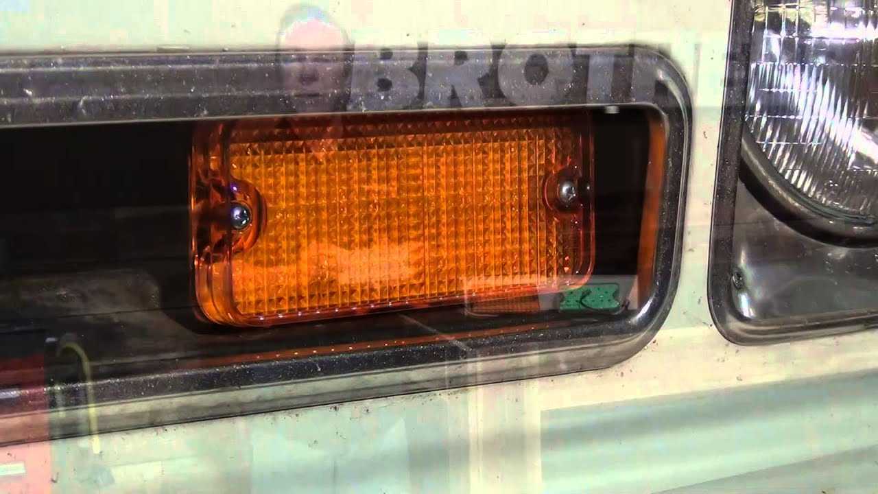 1969-1970 Led Parking Lights - Chevy Truck