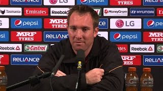 2015 WC ZIM vs IRE: Brendan Taylor on team's defeat