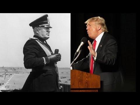 Trump tweets fascist dictator's quote
