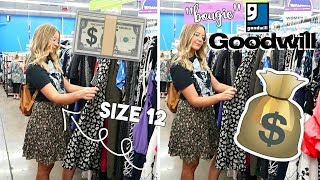 """SIZE 12 GIRL TRIES """"BOUGIE"""" GOODWILL 50% OFF SALE"""