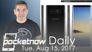 Samsung Galaxy Note 8 specs leaked, Apple Watch LTE & more   Pocketnow Daily