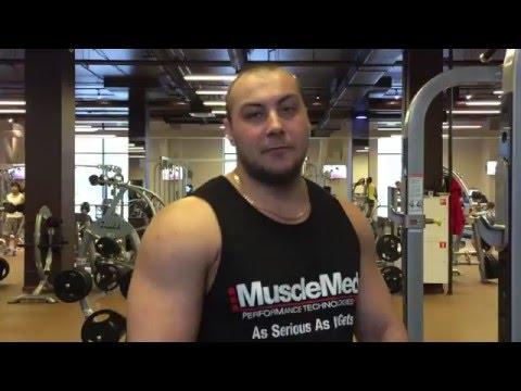 Александр Ткаченко -  Тренировка плеч