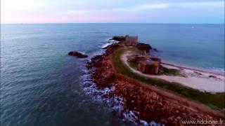 HD drone LA TRINITE SUR MER Pointe de Kerbihan