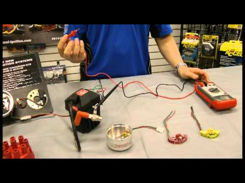 Mallory Unilite Electronic Ignition Module Testing - YouTube