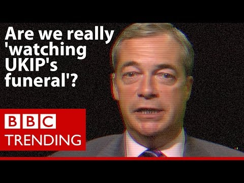 General election 2017: Are we really 'watching UKIP's funeral'? - BBC Trending