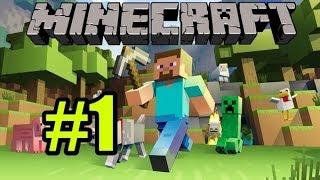 Смотреть Minecraft одиночное Прохождение #1