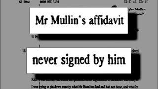 Cover-up at The Guardian 29: John Mullin's unsigned 'sworn affidavit'