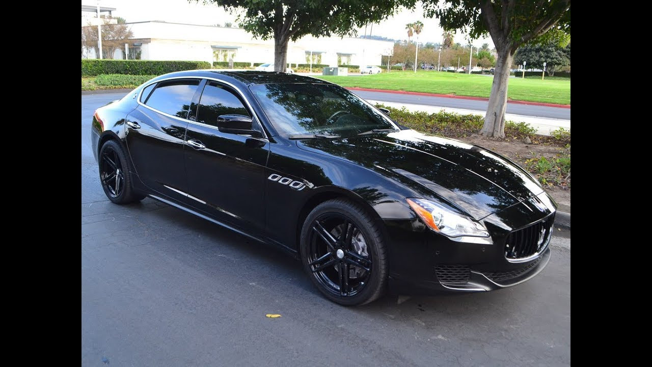 Sold 2016 Black Maserati Quattroporte S For By Corvette Mike