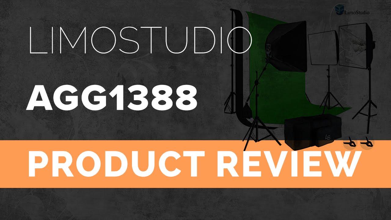 Limostudio Photo Video Studio Lighting Kit Review Agg1388 Youtube