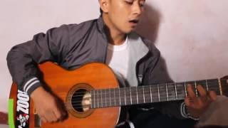 dede cover mawar merah(krisyanto) video by iqbal