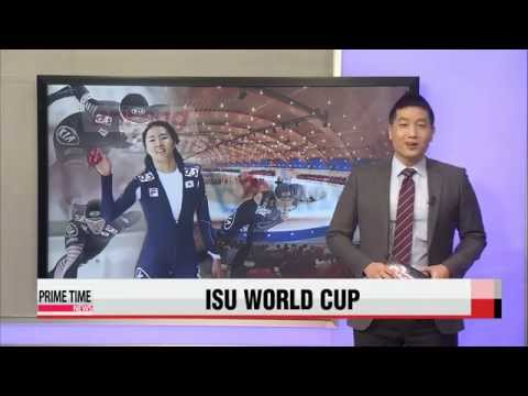 Lee Sang-hwa wins 500 m gold at first ISU World Cup event of season   스피드스케이팅: 이