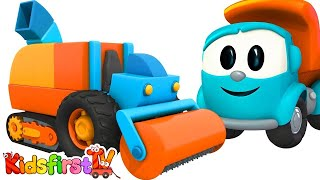 Cartoons for children. Leo the Truck cartoons. Road repair! Cars cartoon for kids. Cars and Trucks