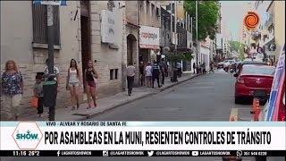 Controles de tránsito resentido por asamblea del SUOEM