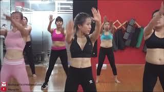 Thể dục thẩm mỹ & aerobic bài eo với tạ 3kg ( 1kg)