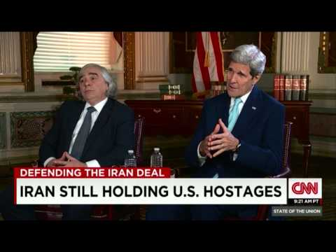 "Jake Tapper interviews John Kerry/Ernest Moniz about ""Iran Deal"""