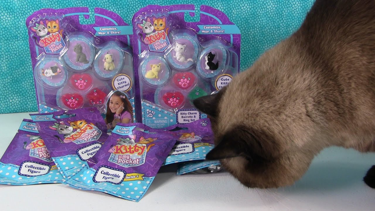 Kitty In My Pocket Blind Bag Series 1 Opening With Ella