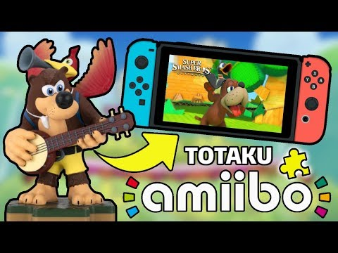 Turning Totakus Banjo-Kazooie Figure into an Amiibo for Super Smash Bros Ultimate