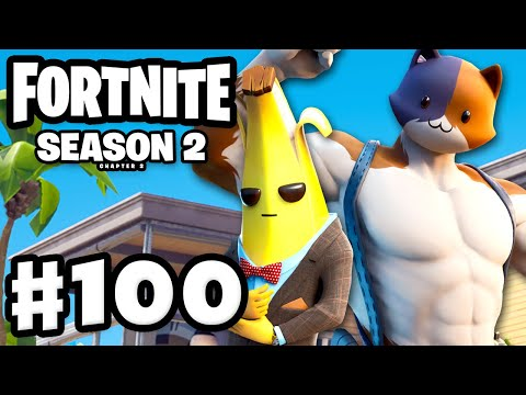 Fortnite Season 2 Chapter 2 Is Here! Meowsles! Agent Peely! - Fortnite - Gameplay Part 100