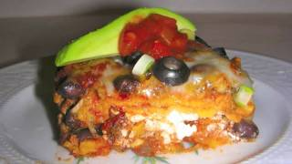 Enchilada Casserole Recipe - Mexican Food