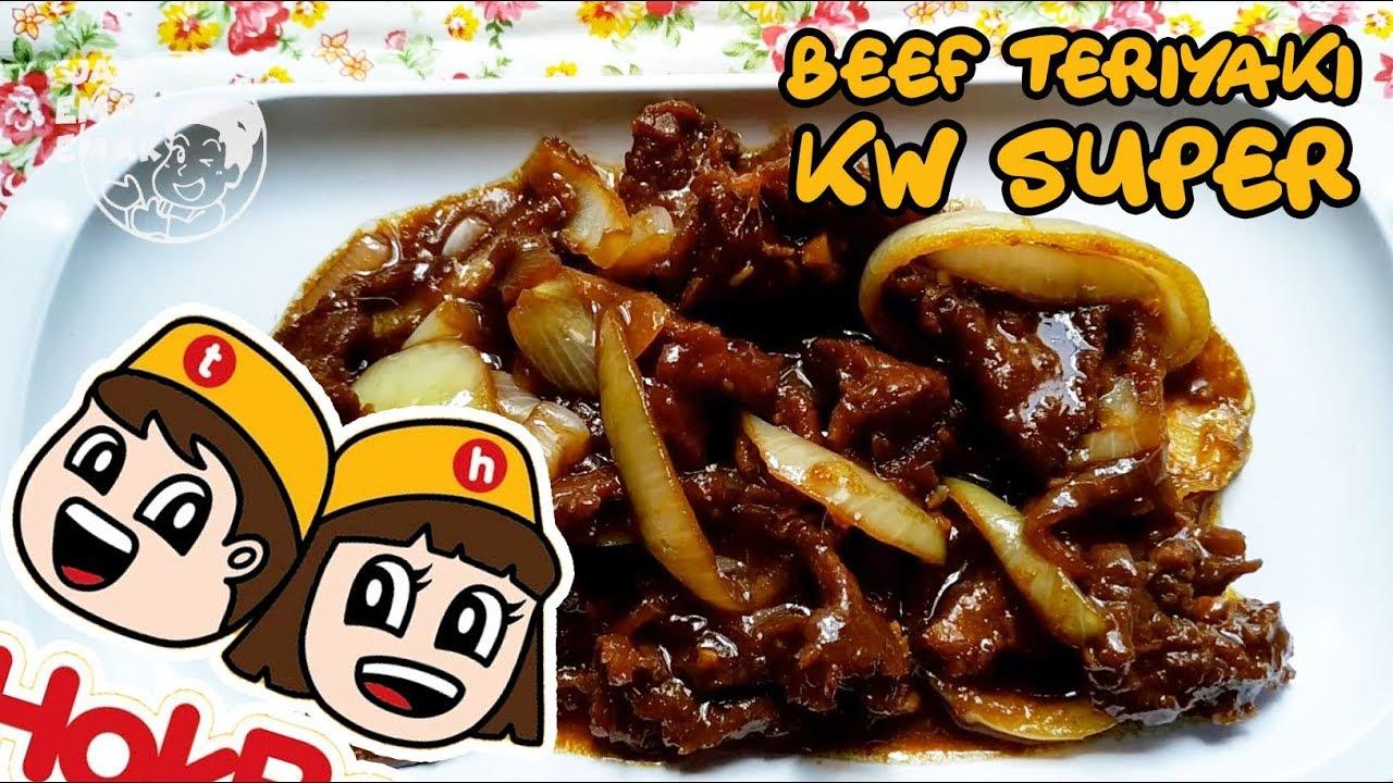 Resep Beef Teriyaki Ala Hokben Youtube