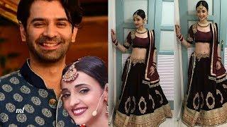 Sanaya Irani and Barun Sobti (Arnav and Khushi) together in a Navratri Function |Looking so sweet